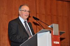 (Photo: Denis Bernier) Serge P. Séguin, directeur-fondateur du programme de doctorat en éducation à l'UQAM de 1985 à 1992.