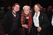 (Photo: Denis Bernier) Catherine Harel-Bourdon, présidente de la CSDM; Louise Harel, ex-ministre et ex-cheffe de Vision Montréal ; Céline Saint-Pierre, sociologue et ex-présidente du Conseil supérieur de l'éducation.